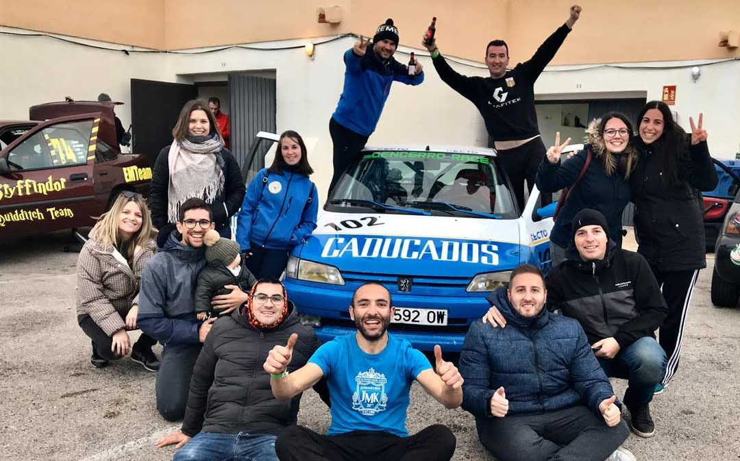 El equipo alcañizano CR Team finaliza segundo en las 6 horas de resistencia de Calafat