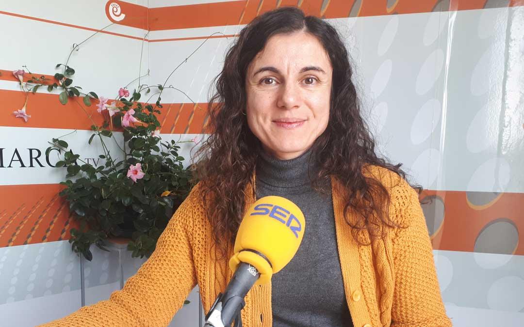 Amelia Tafalla es técnico de Cruz Roja Bajo Aragón