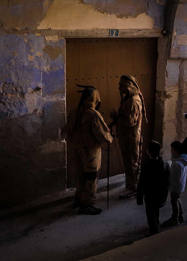 Ganador categoría Oficios y tradiciones: El diablo llama a tu puerta. Carlos Puértolas.