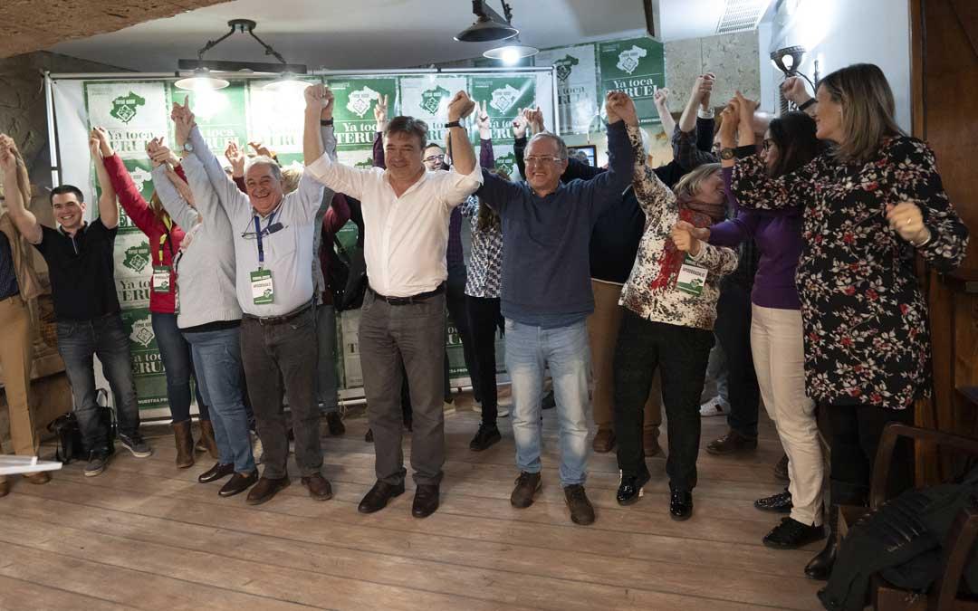 Teruel Existe arrasa y se alza como primera fuerza política
