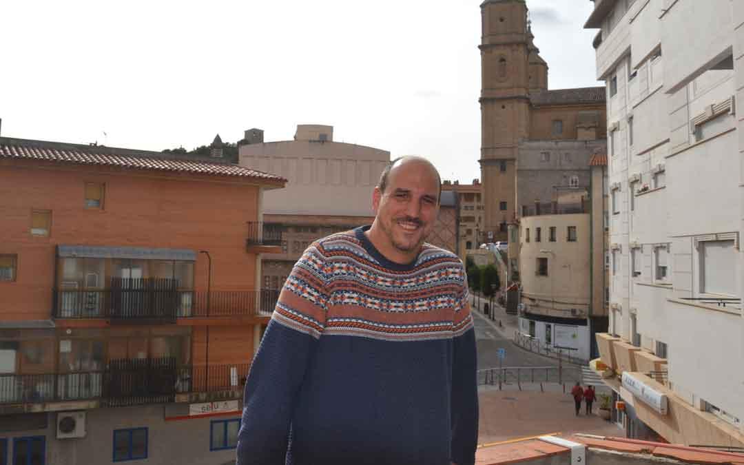 Joaquín Egea, ayer en La COMARCA tras la entrevista. m. quilez