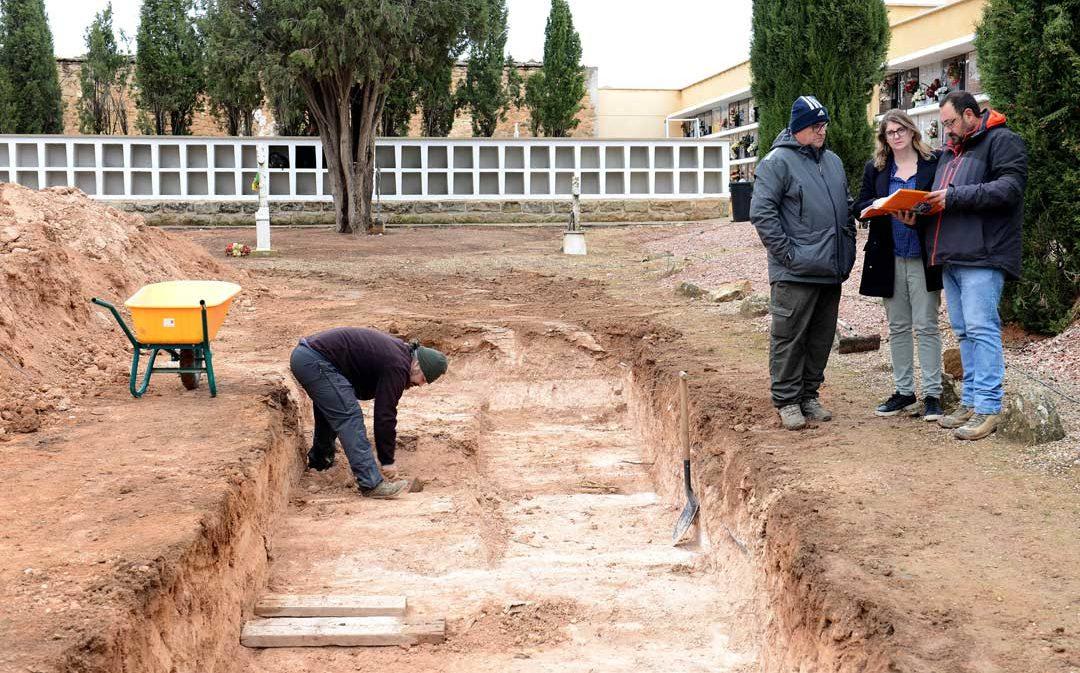 Se inicia la 2ª fase de la búsqueda de fusilados por el franquismo en una fosa de Alcañiz