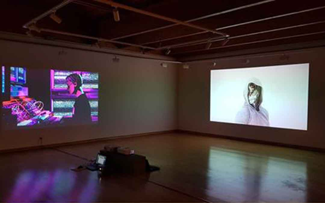 Uno de los puntos habilitados en la sala dentro del 5º Ranetas VR Fest. facebook ranetas