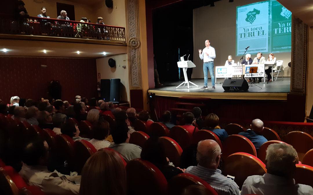El alcañizano, Joaquín Egea, candidato al Senado por Teruel Existe. / B. Severino