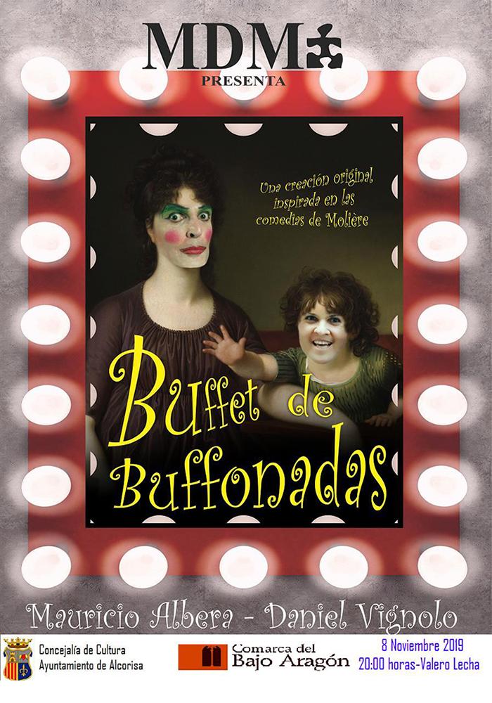 Buffet de Bufonadas, comedia en Alcorisa