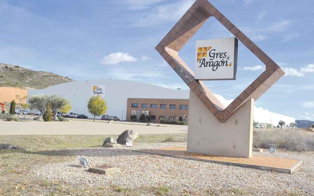 Gres Aragón abrirá su planta de Alcorisa en marzo y ya ha creado empleos