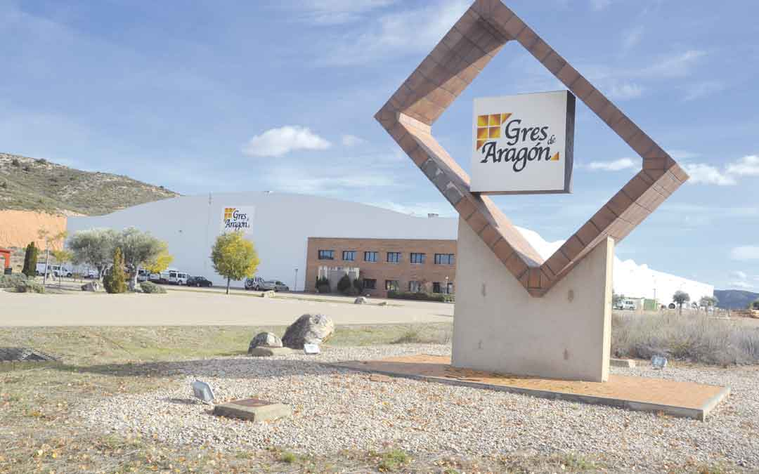 La planta de Gres Aragón en Alcorisa ya está en marcha con 35 empleos