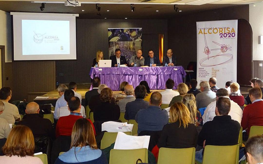 El Consejo General del Consorcio Nacional de Tambores y Bombos se cita en Alcorisa