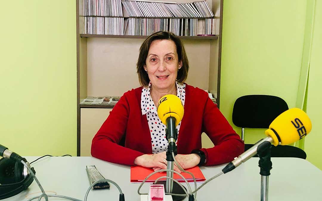 La concejal de Igualdad, Mujer y Bienestar Social del Ayto de Caspe, Alicia Clavería