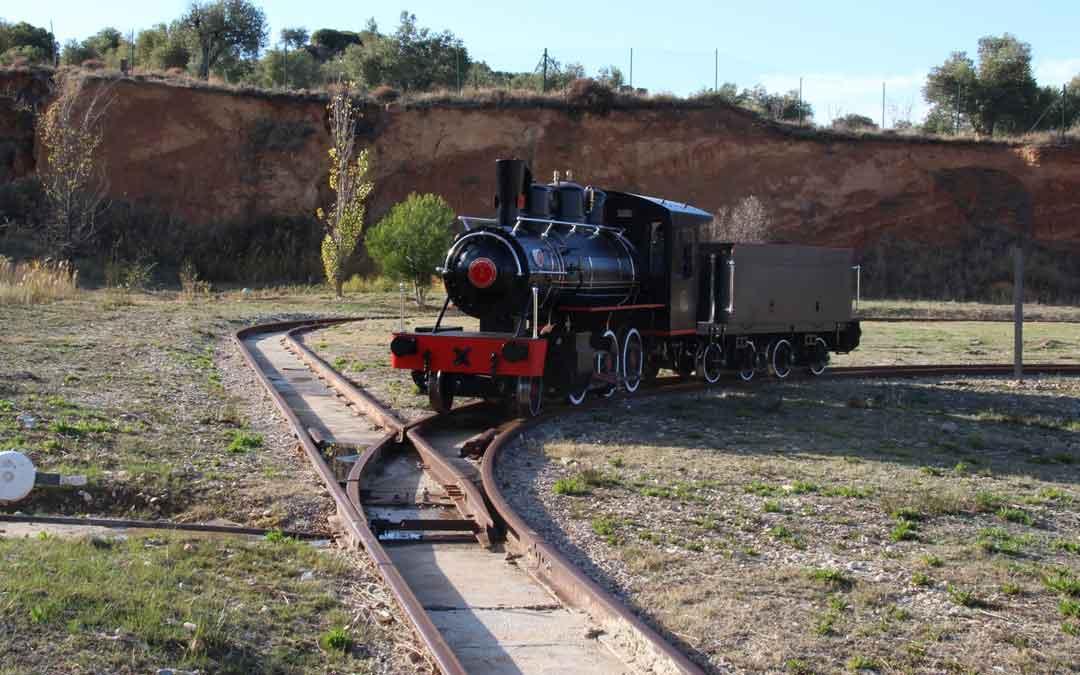 La locomotora Baldwin recorre el parque minero desde 2019