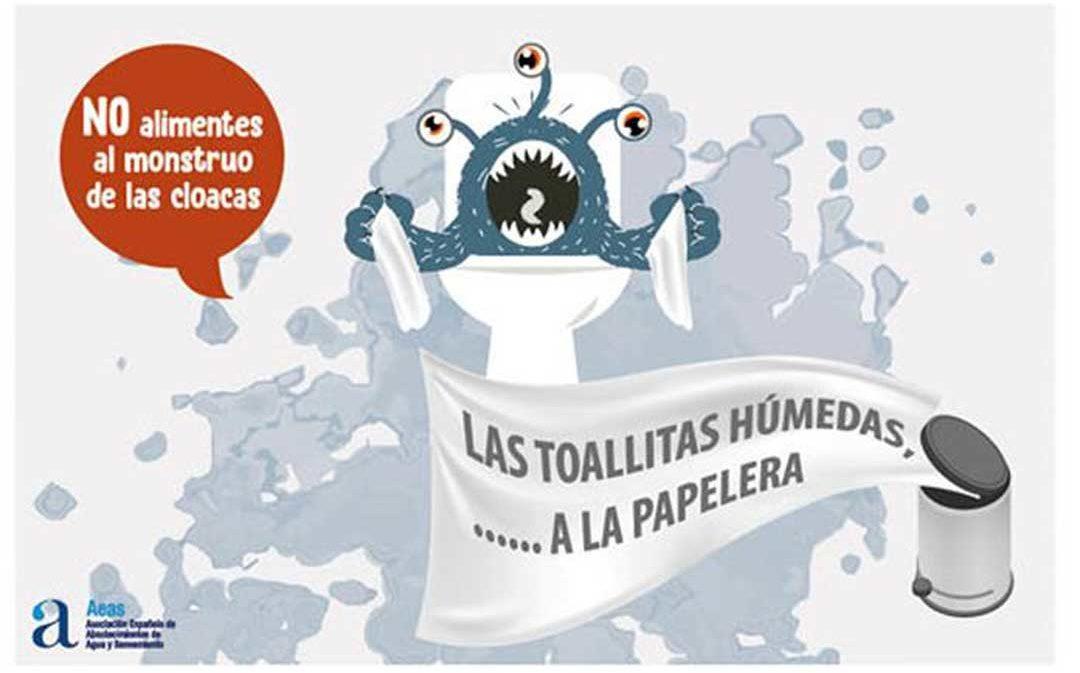 Aquara se une a la campaña 'No alimentes al monstruo de las cloacas'