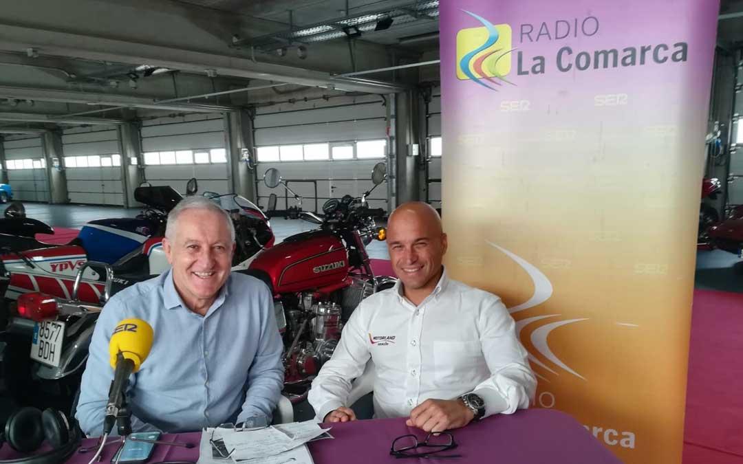 Santiago Abad, gerente de Motorland Aragón, ha sido el primer invitado del programa