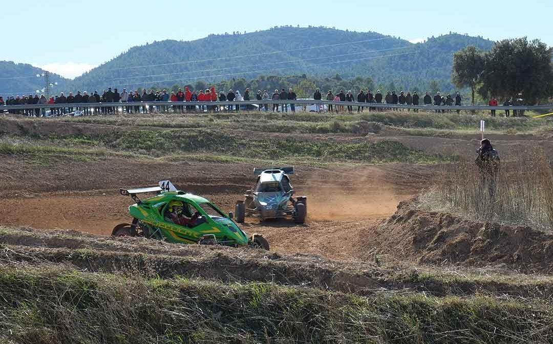 Iván Puig y Joan Salichs vencen en el XVIII Autocross de Aguaviva