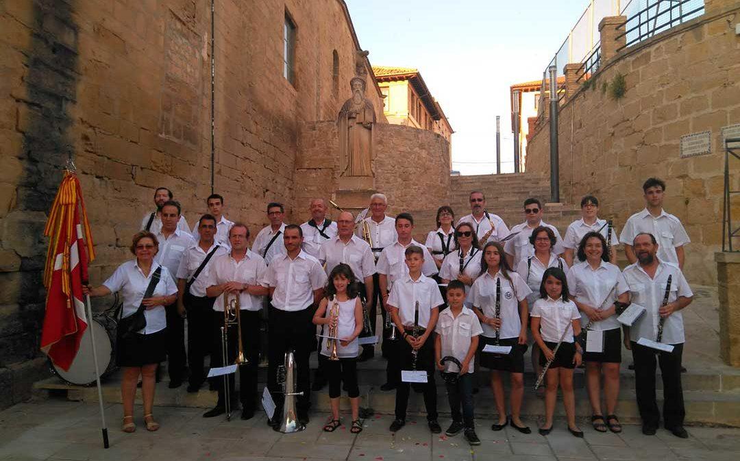 La Banda de Música de Caspe celebra Santa Cecilia coincidiendo con su 50 aniversario