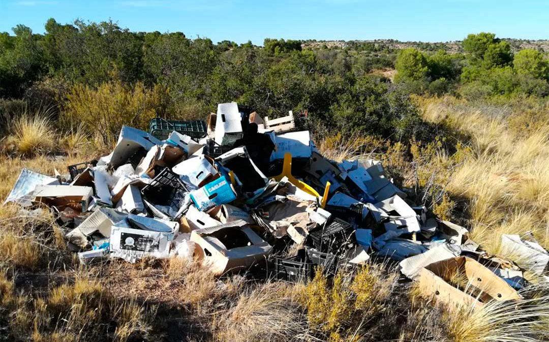 Quedada en Alcañiz para limpiar el entorno de la carretera de Caspe