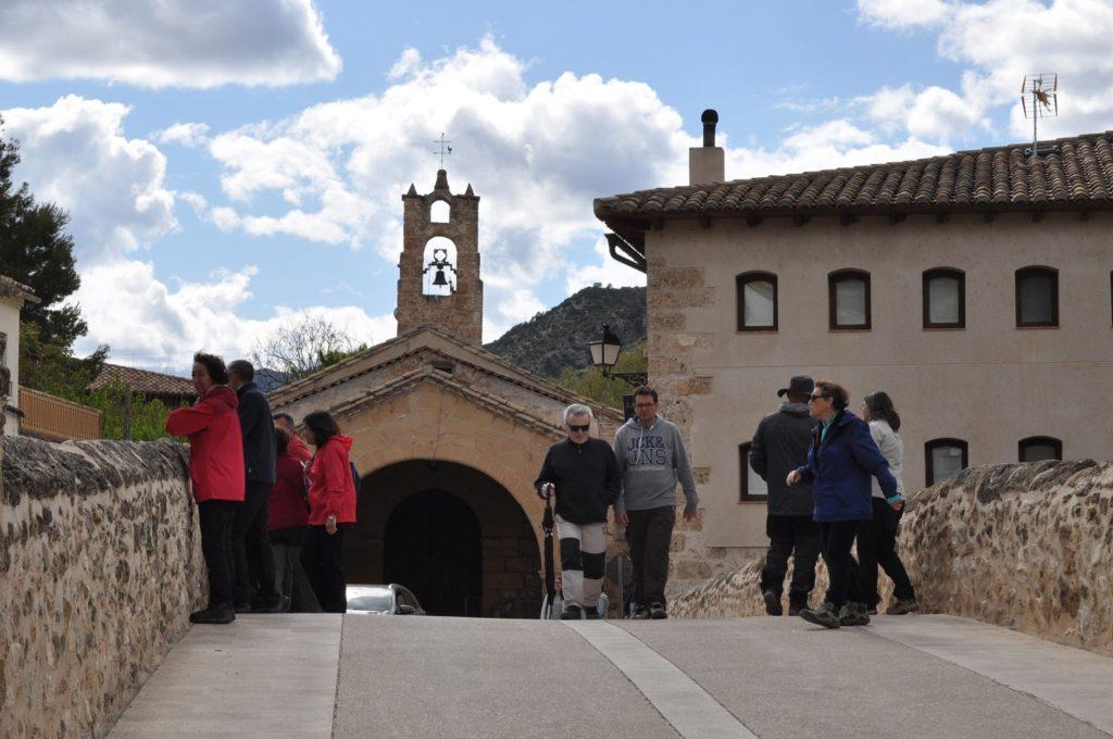 Foto de archivo de turistas en Beceite / J. de Luna