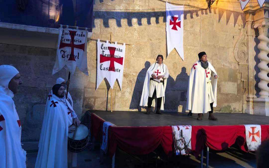 El acto principal se ha desarrollado este sábado por la tarde con la recreación histórica / L. Quílez
