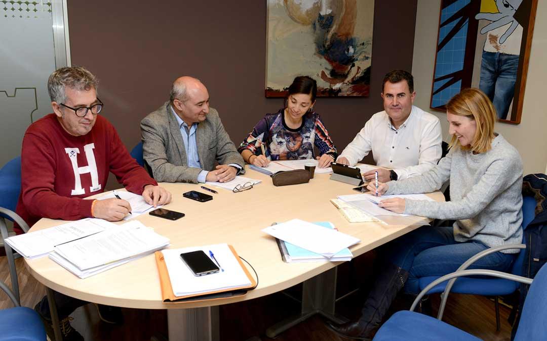 En la comisión de Hacienda de este lunes los grupos podían presentar sus enmiendas / Ayto. Alcañiz