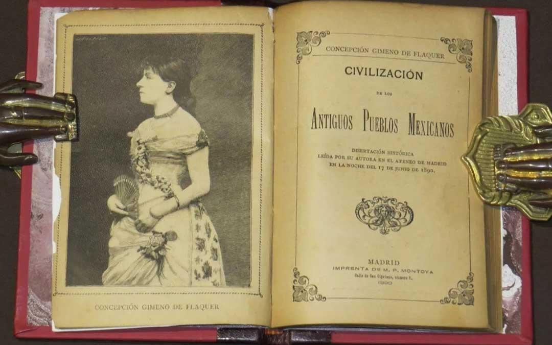 Concepción Gimeno fue una firme defensora de los derechos y la educación de las mujeres