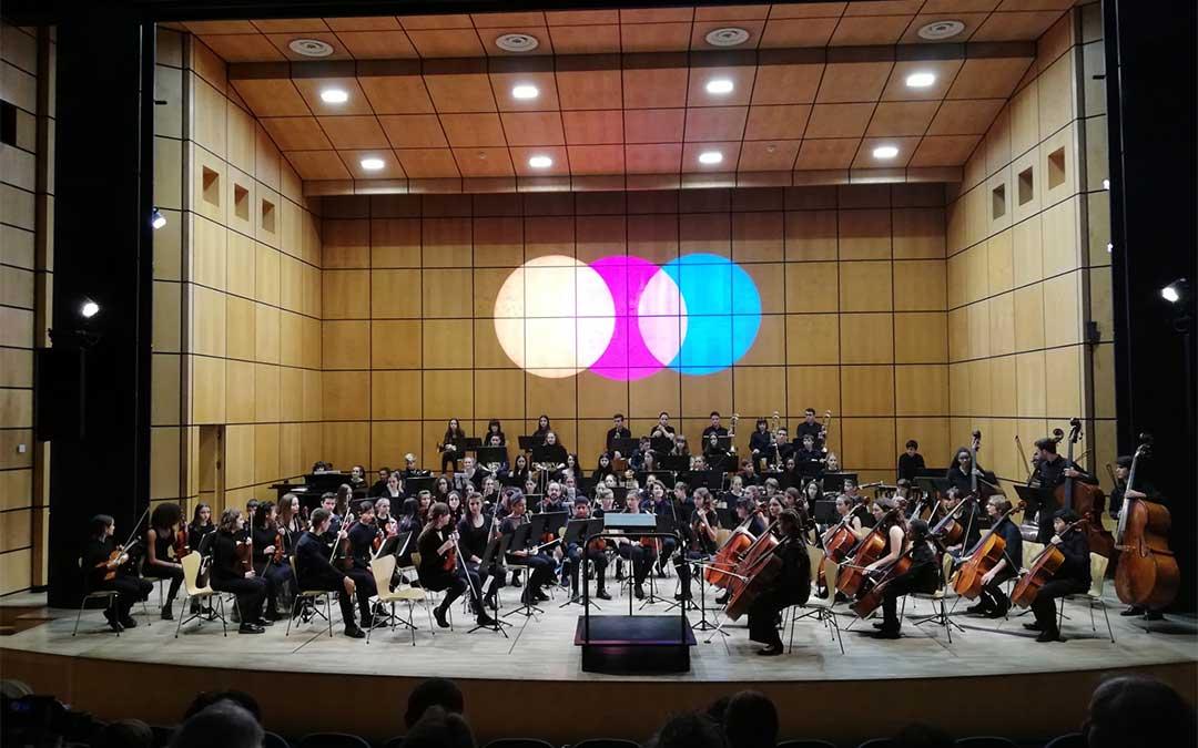 Los alumnos y profesores del Conservatorio de Alcañiz ya visitaron Ginebra (Suiza) del 31 de octubre al 4 de noviembre.