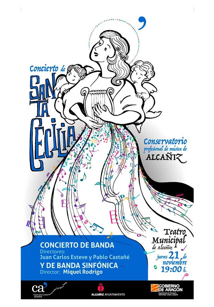 """Concierto del Conservatorio Profesional de Música """"José Peris Lacasa"""" de Alcañiz"""