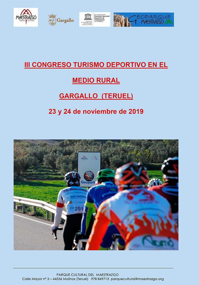 III Congreso Turismo Deportivo en el Medio Rural en Gargallo