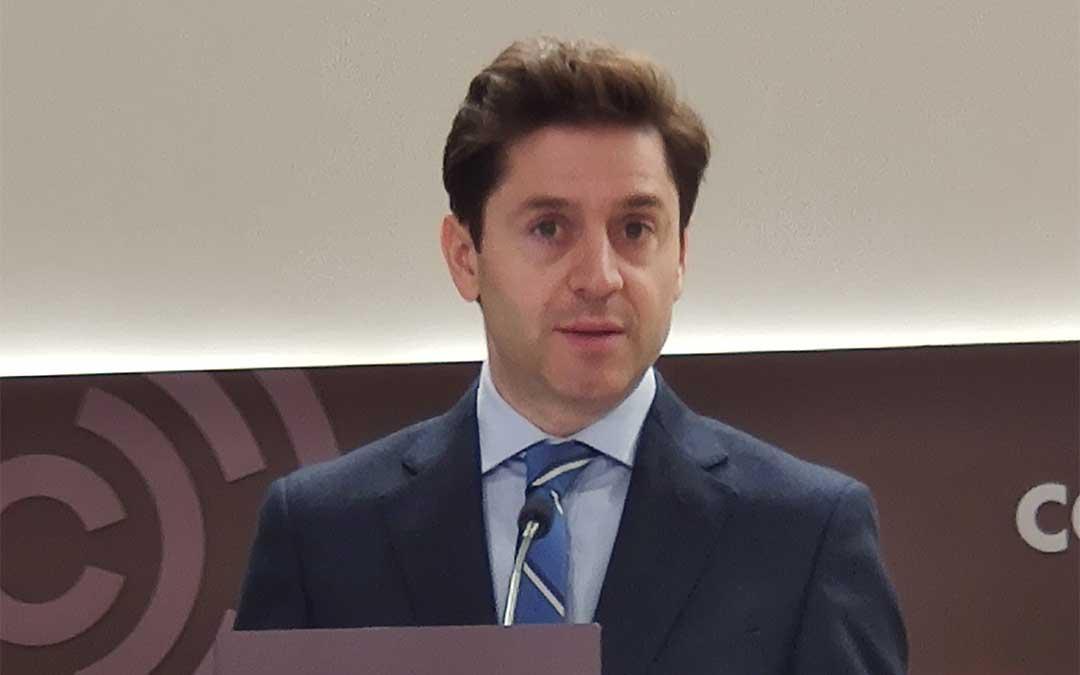 El portavoz de Industria del PP en las Cortes de Aragón, Sebastián Contín.