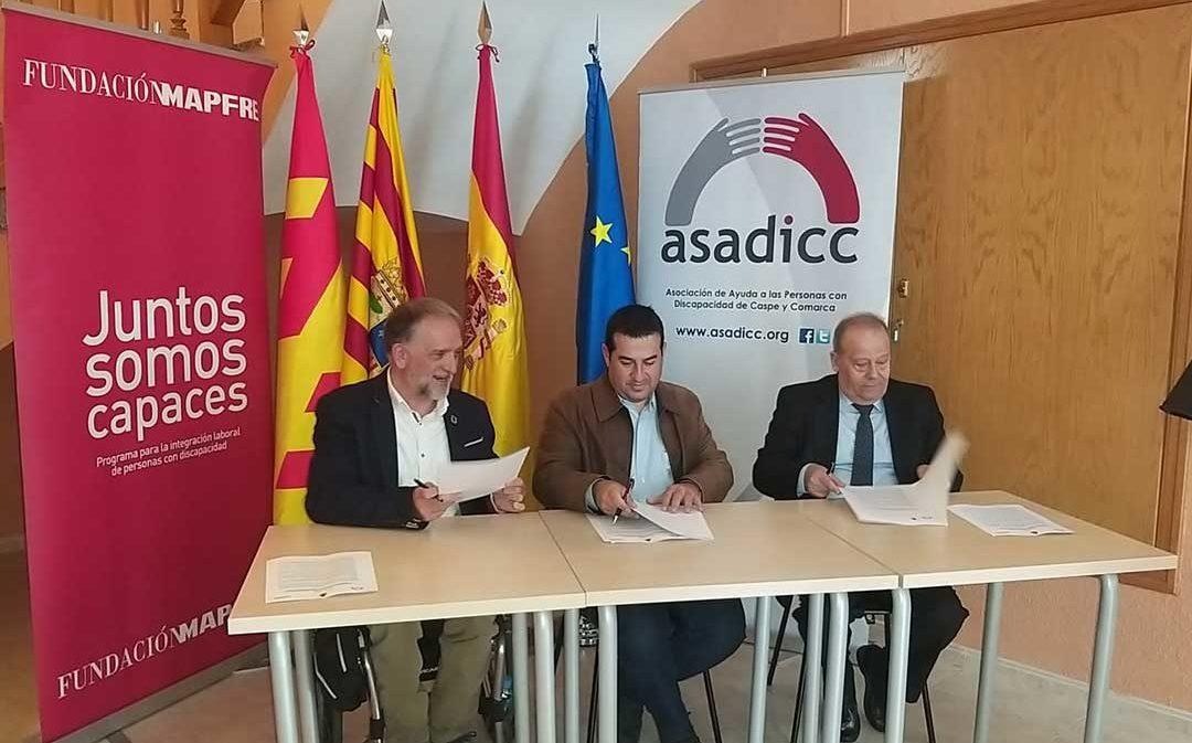 ASADICC y Fayón firman un convenio de colaboración