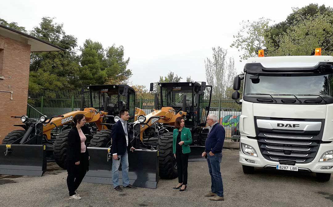 La Diputación de Zaragoza renueva su parque de maquinaria