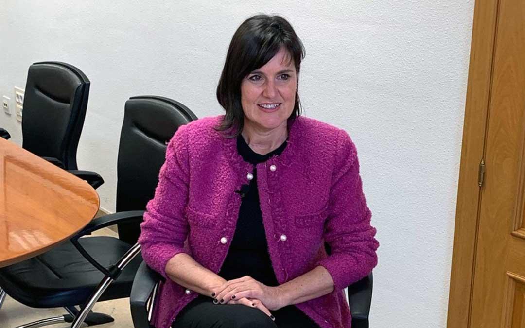 Elena Allué, directora general de Turismo de Aragón./ A.G.