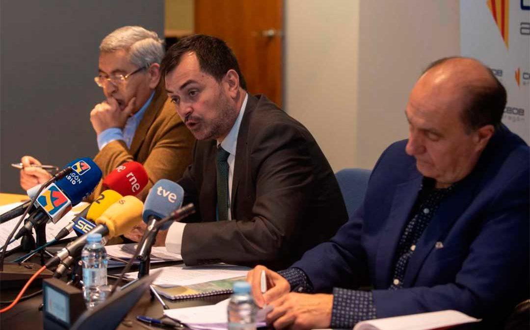 Los empresarios proponen rebajar las cotizaciones sociales para atraer y retener población en el Aragón vacío