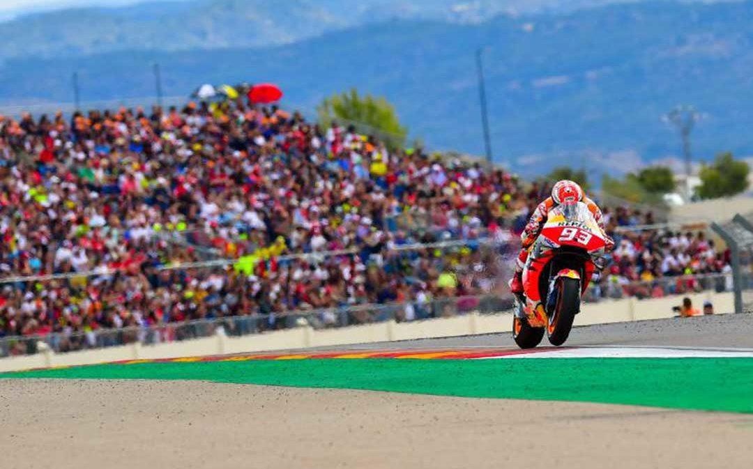 El viernes comienza la venta de entradas para el Gran Premio de Aragón de MotoGP 2020 con un 25% de descuento