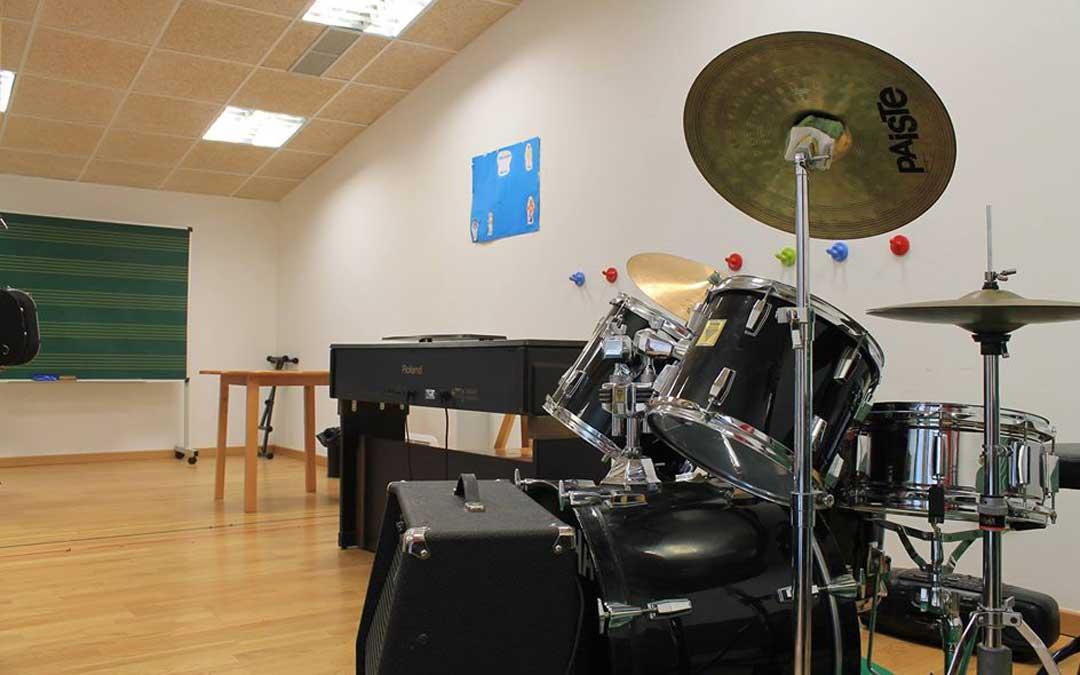 La escuela de música cuenta con más de 30 años de historia.