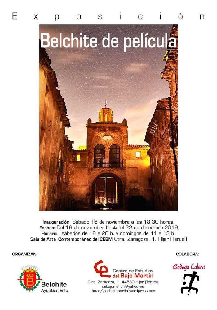 """35º Exposición """"Belchite de película"""" en Híjar"""