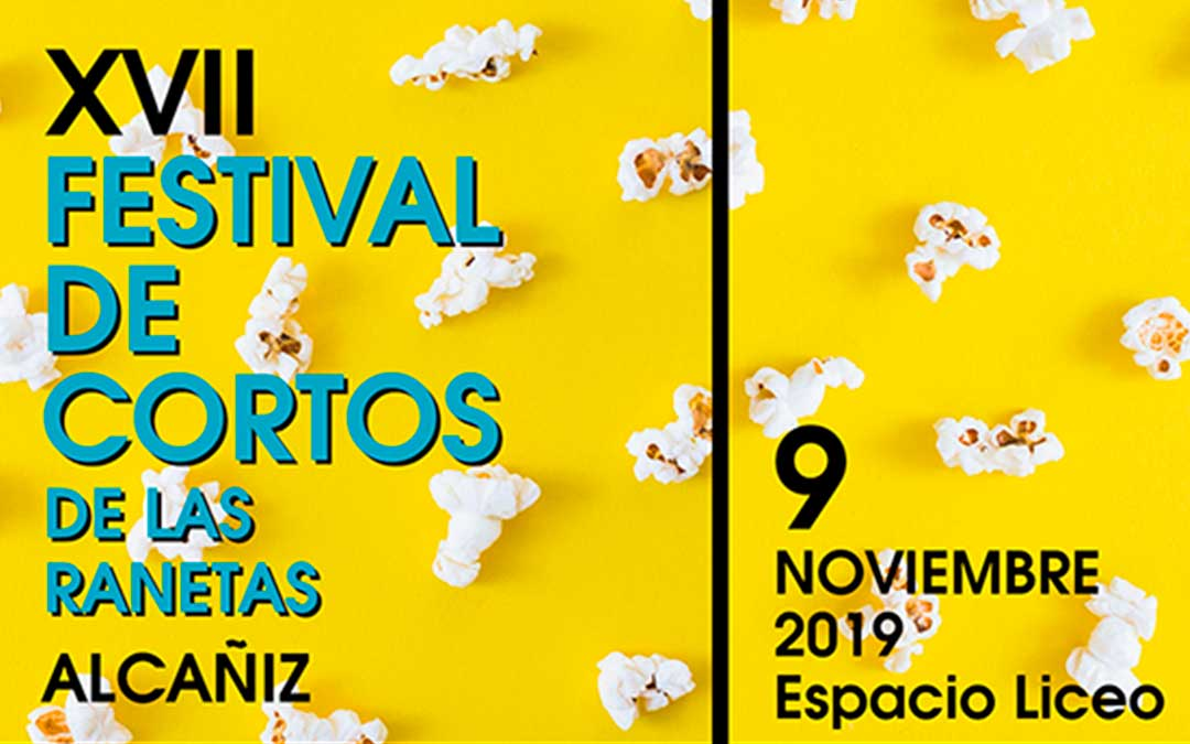 Cartel del XVII Festival de Cortos de Las Ranetas.
