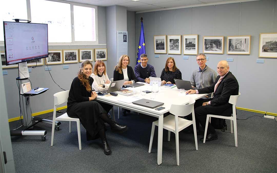 Reunión de los socios europeos esta semana en la sede del Grupo San Valero.