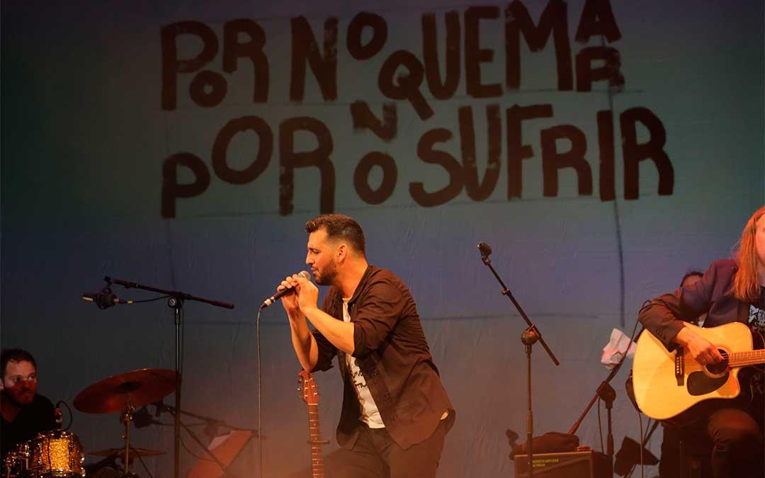 El popular artista malagueño, Fran Perea, actuará este miércoles en la gala benéfica de la Fundación Sesé.