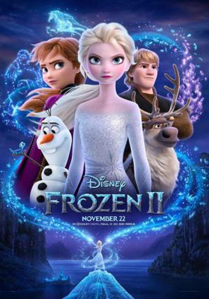 Cartelera en Alcañiz: Frozen II