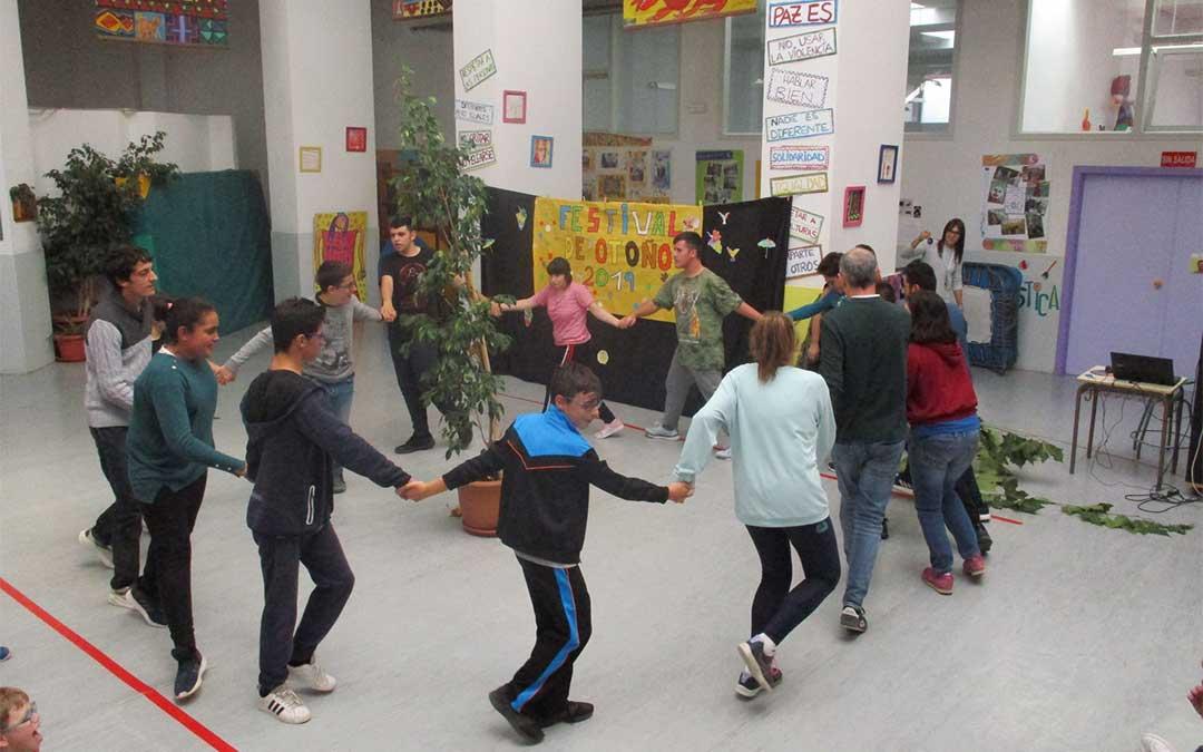 Exhibición de una de las coreografías.