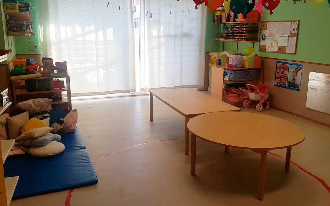 Imagen de uno de los nuevos espacios de la guardería caspolina.