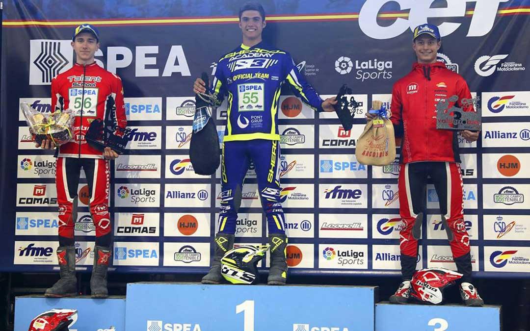 Raúl Guimerá ganó en Valderrobres y se llevó el subcampeonato Junior / Sherco
