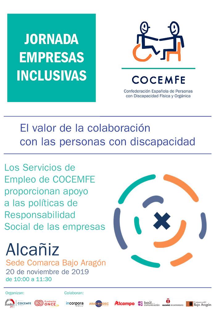 Jornada de empresas inclusivas de COCEMFE