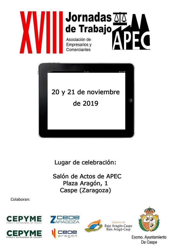 XVIII Jornadas de trabajo APEC en Caspe
