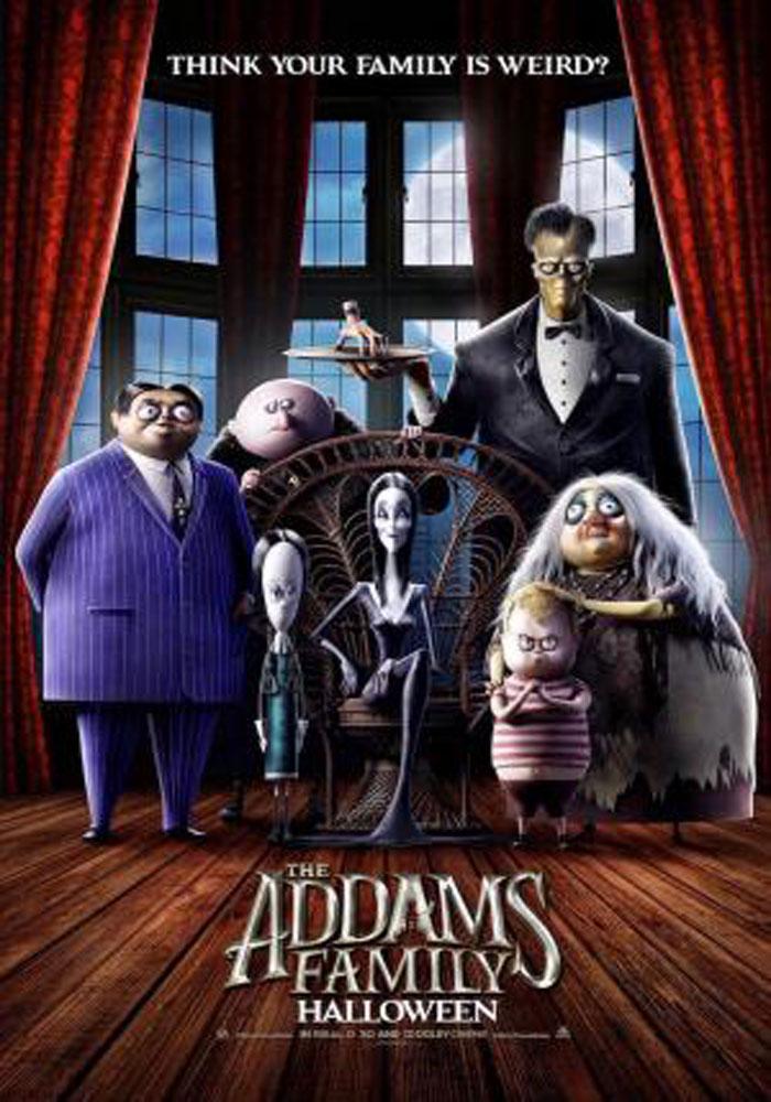 Cartelera en Alcañiz: La familia Addams