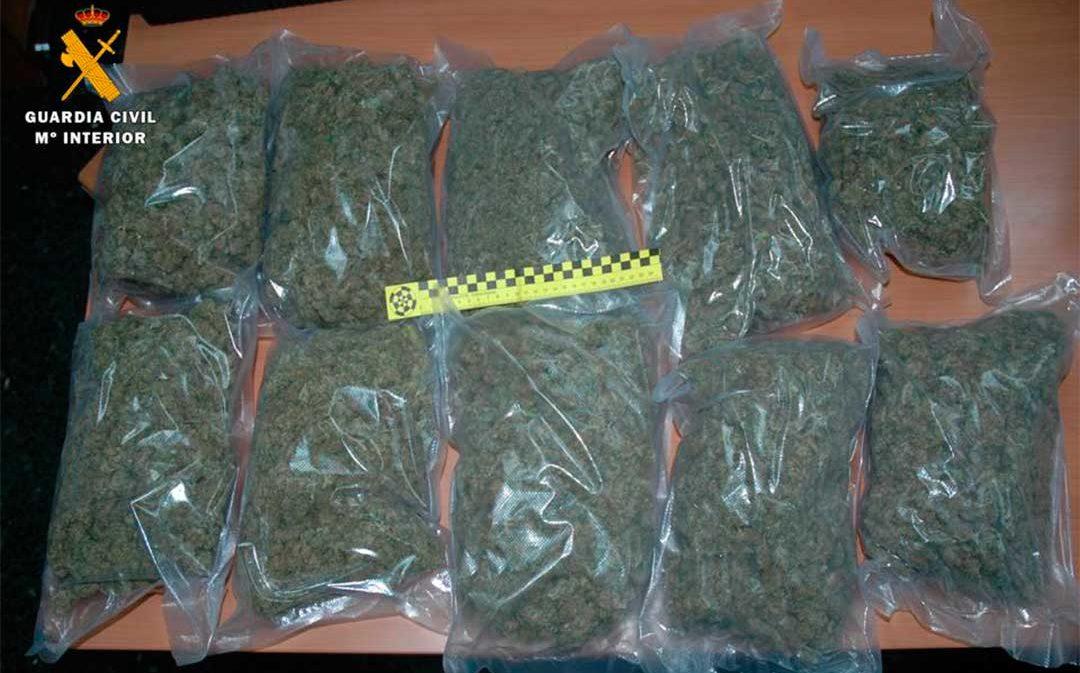 Desarticulan un grupo que vendía drogas en Caspe y Alcañiz