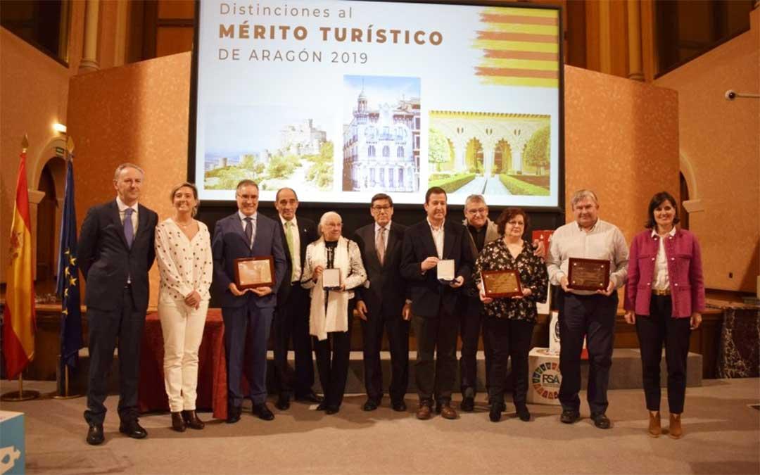 Entrega de las Medallas al Mérito Turístico./ DGA