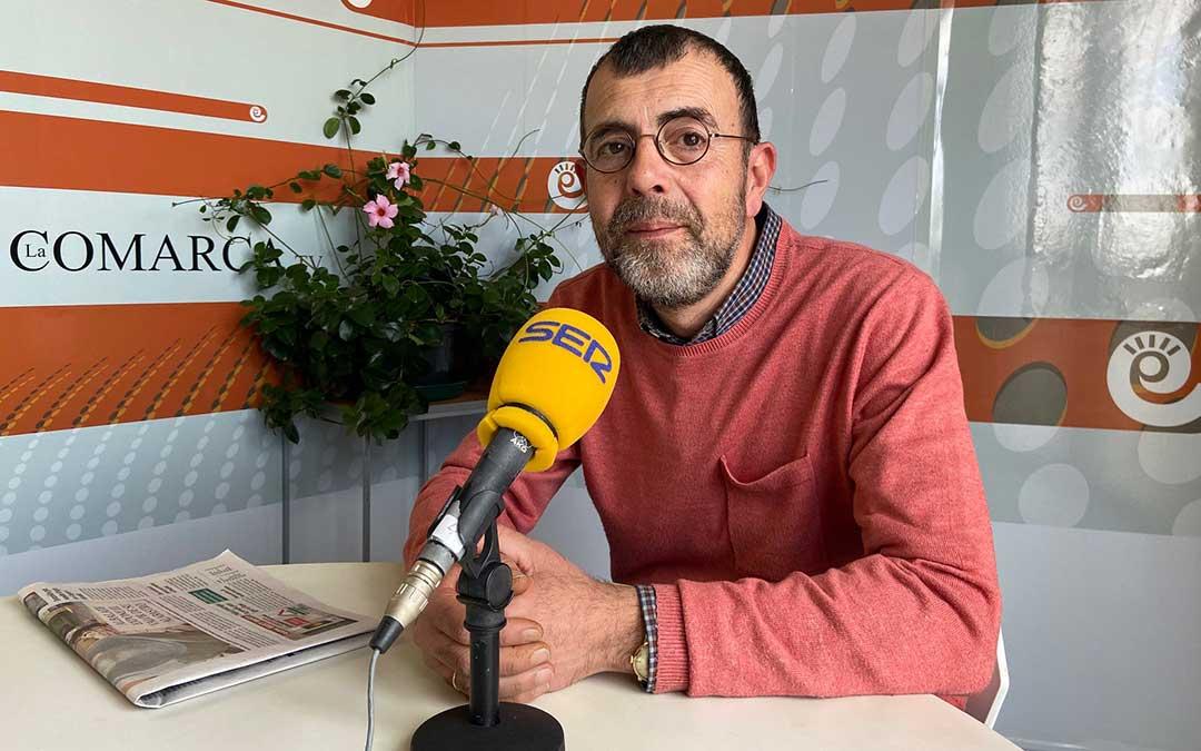Miguel Ibáñez, de la Librería Ibáñez./ A.M.