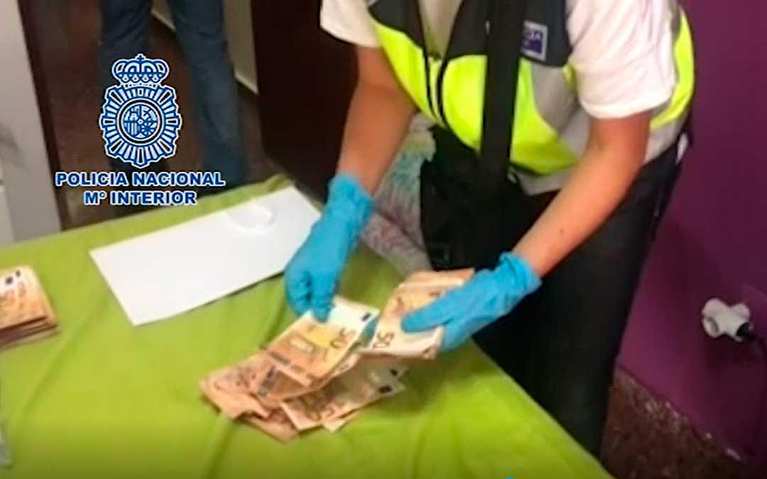 Imágenes de la operación compartidas por la Policía Nacional.