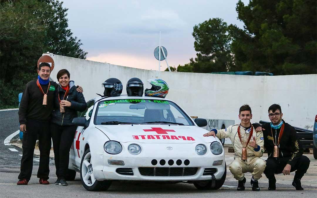 El equipo Pacal Sport, conformado por los hermanos Hugo y Ethan.
