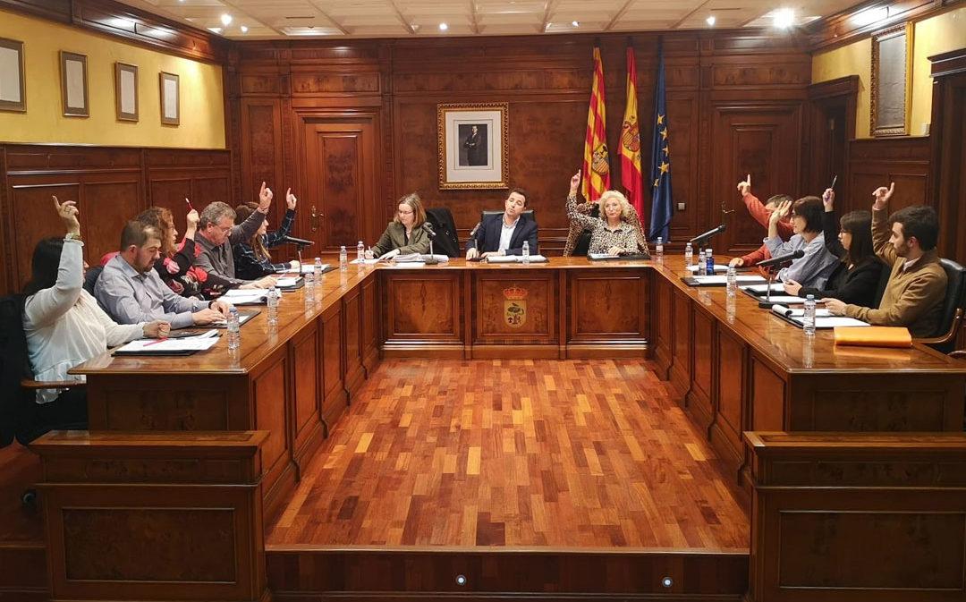 El Pleno de Calanda apoya nuevas iniciativas empresariales